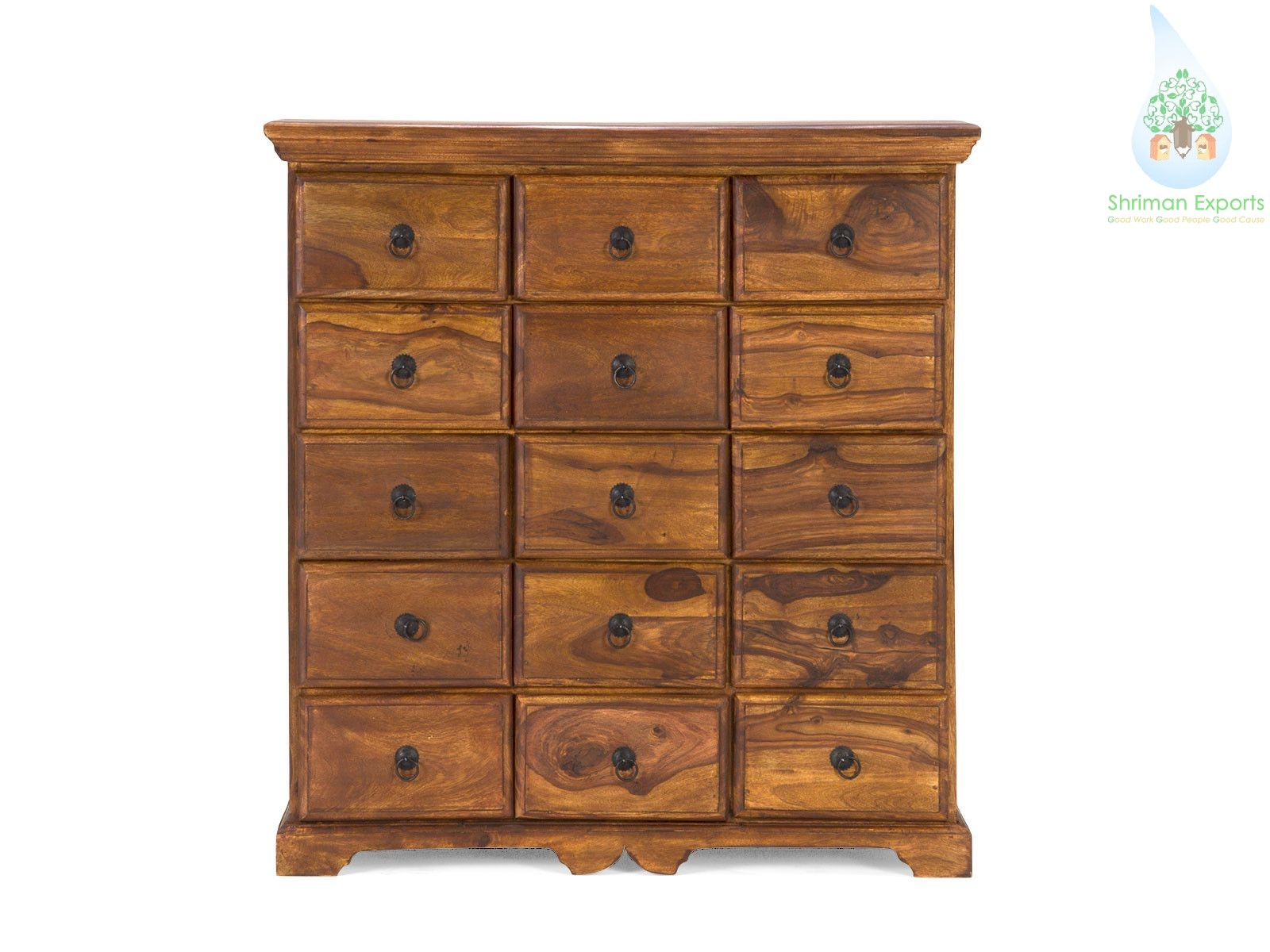 Wooden Dresser Chest Of Drawer Cabinet Shriman Exports